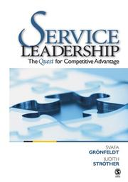 Cover of: Service Leadership
