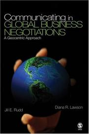 Cover of: Communicating in Global Business Negotiations
