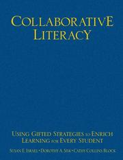 Cover of: Collaborative Literacy: Using Gifted Strategies to Enrich Learning for Every Student
