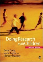 Cover of: Doing Research with Children