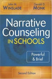 Cover of: Narrative Counseling in Schools