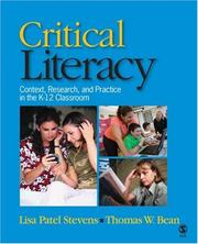 Cover of: Critical Literacy