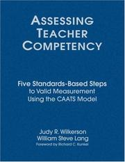 Cover of: Assessing Teacher Competency