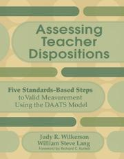 Cover of: Assessing Teacher Dispositions