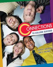 Cover of: Connections to College Success