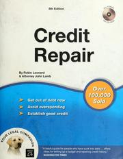 Cover of: Credit Repair (book with CD-Rom)