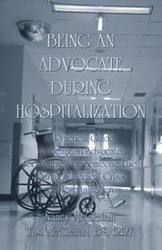 Cover of: Being an Advocate During Hospitalization