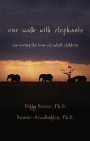 Cover of: Our Walk With Elephants