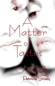 Cover of: A Matter of Tastes