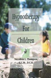 Cover of: Hypnotherapy For Children