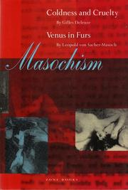 Cover of: Masochism