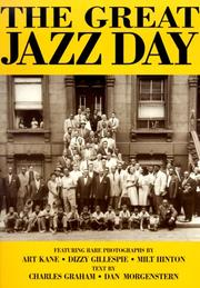 Cover of: The Great Jazz Day