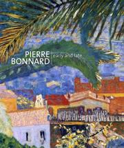 Cover of: Pierre Bonnard