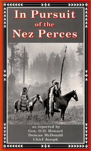 Cover of: In Pursuit of the Nez Perces