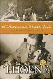 Cover of: A Thousand Shall Fall (Shiloh Legacy)
