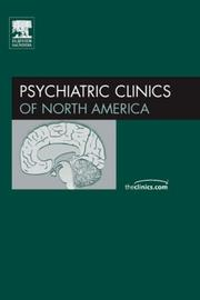 Cover of: Depression, An Issue of Psychiatric Clinics (The Clinics: Internal Medicine)