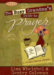 Cover of: The Busy Grandma's Guide to Prayer