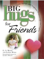 Cover of: Big Hugs for Friends