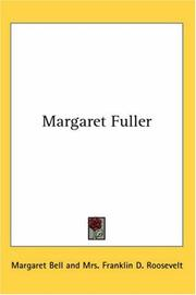 Cover of: Margaret Fuller