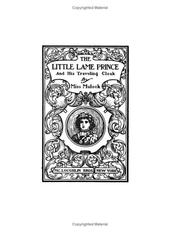 Cover of: The Little Lame Prince and His Traveling Cloak: a parable for old and young.