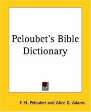 Cover of: Peloubet's Bible Dictionary