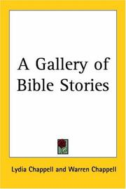 Cover of: A Gallery of Bible Stories