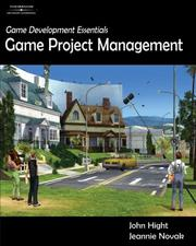 Cover of: Game Development Essentials: Game Project Management