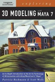 Cover of: Exploring 3D Modeling With Maya (Design Exploration Series)