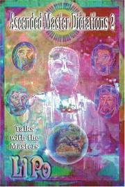 Cover of: Ascended Master Dictations 2