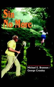 Cover of: Sin No More