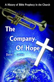 Cover of: THE COMPANY OF HOPE