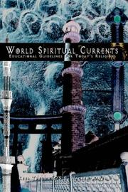 Cover of: World Spiritual Currents