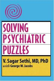 Cover of: SOLVING PSYCHIATRIC PUZZLES