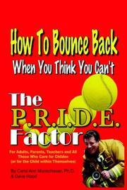 Cover of: The P.R.I.D.E. Factor