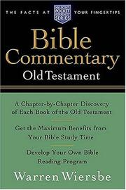Cover of: Pocket Old Testament Bible Commentary: Nelson's Pocket Reference Series (Nelson's Pocket Reference)