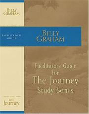 Cover of: The Journey Facilitator's Guide