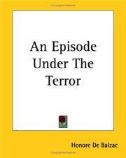 Cover of: An Episode Under The Terror