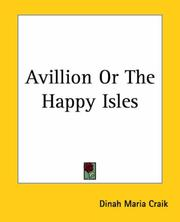 Cover of: Avillion Or The Happy Isles