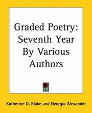 Cover of: Graded Poetry