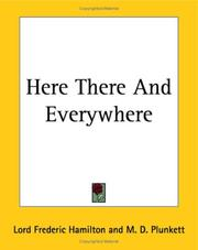 Cover of: Here There And Everywhere