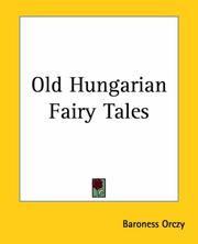Cover of: Old Hungarian fairy tales