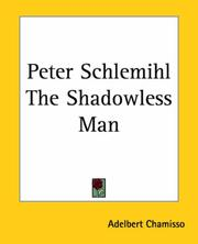 Cover of: Peter Schlemihl The Shadowless Man
