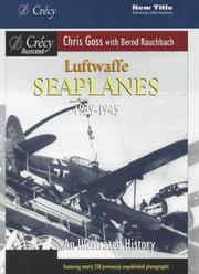 Cover of: Luftwaffe Seaplanes 1939-1945 (Crecy Illustrated)