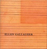 Cover of: Ellen Gallagher