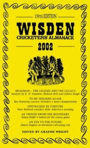 Cover of: Wisden Cricketers Almanack 2002/the Best (Wisden Cricketers' Almanack)