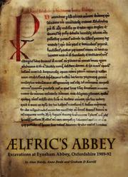Cover of: Aelfric's Abbey