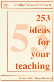 Cover of: 253 Ideas for Your Teaching (Interesting Ways to Teach)