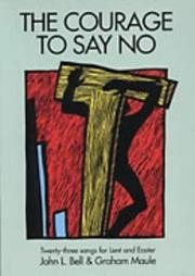 Cover of: The Courage to Say No