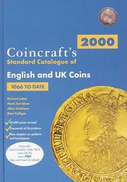 Cover of: Coincrafts 2000 Standard Catalogue of English and U. K. Coins
