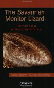 Cover of: The Savannah Monitor Lizard